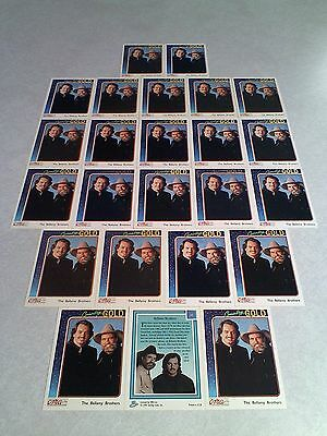*****The Bellamy Brothers*****  Lot of 24 cards