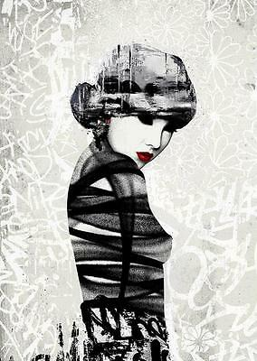 Hush Rouge I 1 limited Signed Print. Rare / undisplayed / mint