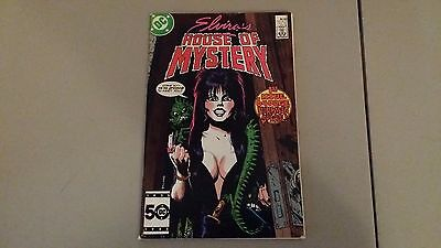 (1986) Dc Comics Elvira's House Of Mystery #1 Fn+ Combined Shipping