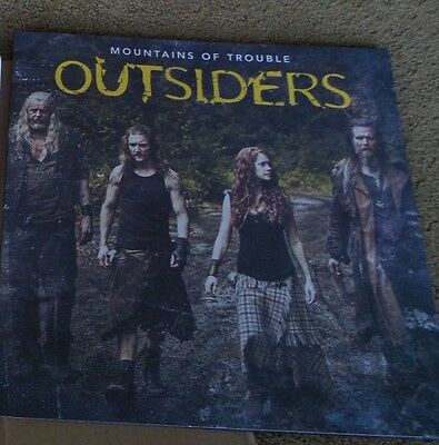 WGN Mountains Of Trouble Outsiders press kit LP RECORD CD EPISODES