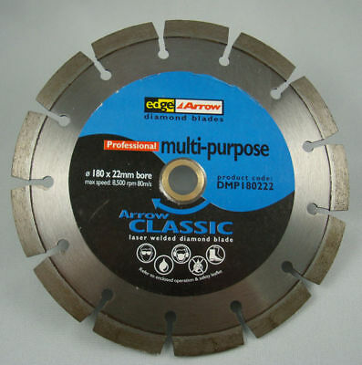 "100pc New 7"" Laser Welded Pro Diamond Saw Blade Concrete 5/8 FREE SHIPPING"