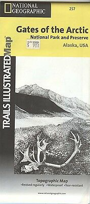 National Geographic Trails Illustrated Map 257 GATES OF THE ARCTIC National Park