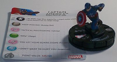 CAPTAIN AMERICA 001 Civil War Movie gravity feed Marvel Heroclix