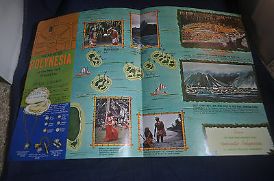 1964 Welcome to Polynesia at the New York Worlds Fair *PEARL LAGOON*