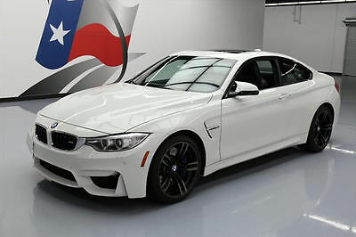 2015 BMW M4  2015 BMW M4 COUPE EXECUTIVE 6-SPEED SUNROOF NAV HUD 14K #330308 Texas Direct