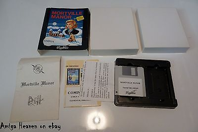 Boxed Amiga Game Mortville Manor by Lankhor ۩