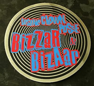 Icp Twiztid Rare Bizzar Bizaar Insane Clown Posse Round Sticker Brand New