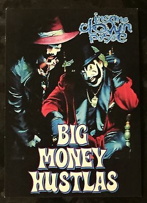 Icp Big Money Hustlas Insane Clown Posse Psychopathic Records Postcard
