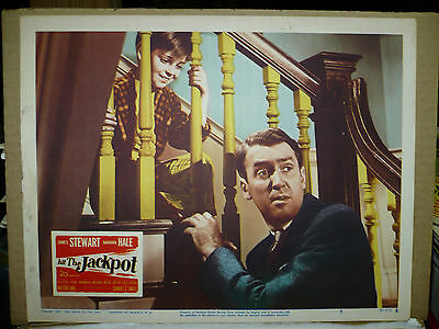 HIT THE JACKPOT, orig 1950 LC #7 (James Stewart, Tommy Rettig)