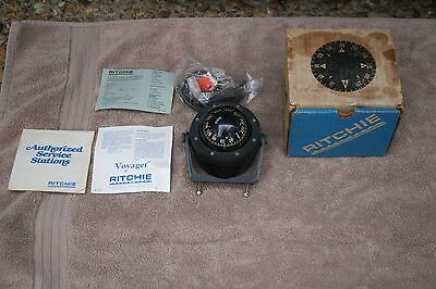 Ritchie B81 Boat Navigation Compass w Manuals & Box USA Made