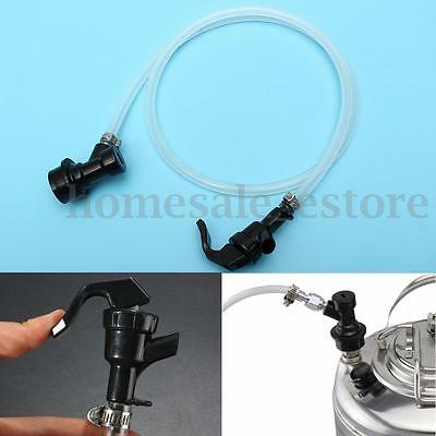 100cm Beer Line Assembly Homebrew Disconnect Ball Lock Keg Picnic Tap Faucet