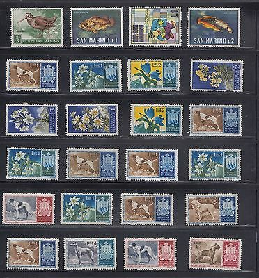 "£1.49 start -  A small collection of ""SAN MARINO"" issues - MINT"
