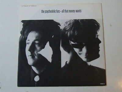"""PSYCHEDELIC FURS All that money wants 12"""" CBS FURST4"""