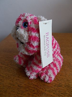New Small Musical Bagpuss Plush Soft Toy