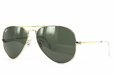 Ray Ban Sonnenbrille / Sunglasses  AVIATOR LARGE METAL RB3025 W3234  55  # *