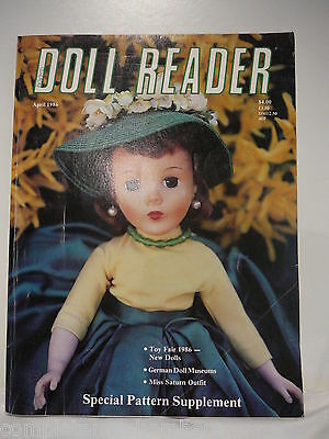 Doll Reader April 1986 German Doll Museums, Toy Fair 1986, Miss Saturn Outfit