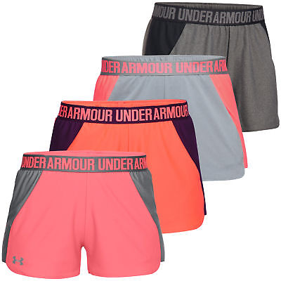 Under Armour 2017 Womens New Play Up Short Sports Gym Training Shorts