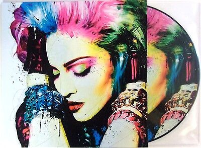 Madonna Vinyl Lp Fever In Cologne - Picture Disc