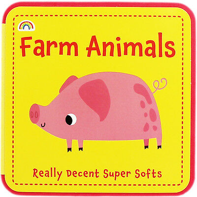Farm Animals by Really Decent Books (Board Book), Children's Books, Brand New