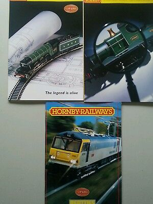 7. Hornby catalogues,over 247 pages