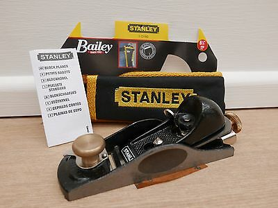 Stanley 601/2 Low Angle Block Plane With Pouch 5 12 060 512060 + Credit Card