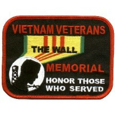 Vietnam Veterans Memorial Wall Army Veteran Embroidered Patch