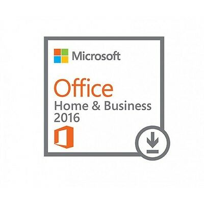 NEW! Microsoft T5D-02316 Office Home & Business 2016