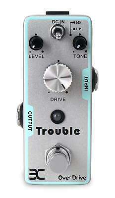 Eno Tc-16 Trouble E-Gitarre Distortion Verzerrer Overdrive Effekt Pedal Metall