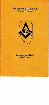 Instructor's Handbook Alternate Proficiency Grand Lodge of Illinois A.F. & A.M.