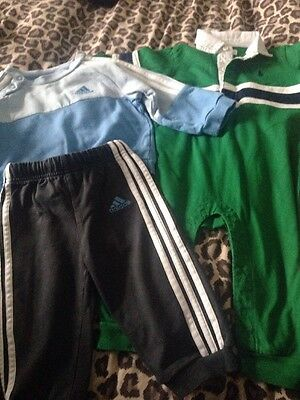 Baby Boys Ralph Lauren And Adidas Bundle Aged 6/9 Months