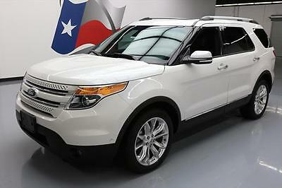 2014 Ford Explorer Limited Sport Utility 4-Door 2014 FORD EXPLORER LTD AWD LEATHER PANO ROOF NAV 23K MI #C34815 Texas Direct