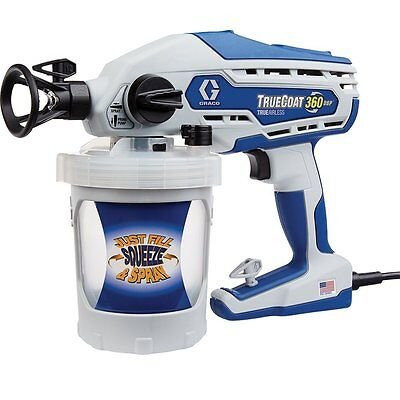 New Graco 16Y386 Truecoat 360 Dsp Electric Airless Paint Sprayer Tool Sale