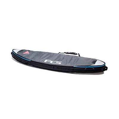 """FCS Double Travel Cover Funboard grey Größe: 6'7"""", Farbe: grey"""