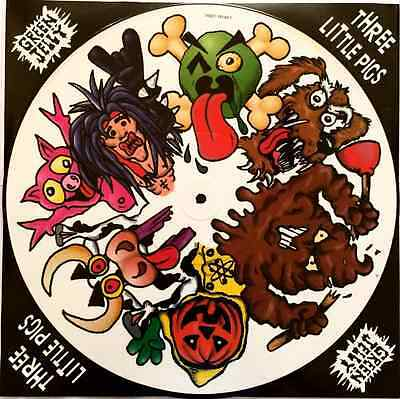 """GREEN JELLY - Three Little Pigs (12"""") (Picture Disc) (EX-/NM)"""