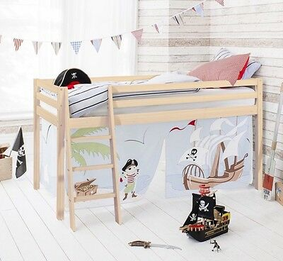 Pirate Pete Kids Bed Tent with Tunnel