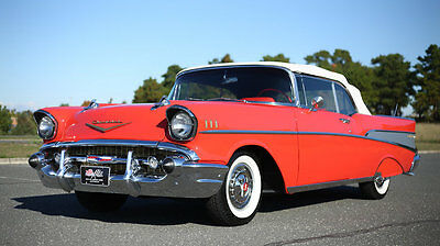 1957 Chevrolet Bel Air/150/210  1957 Chevrolet Ble Air Convertible -- Show Quality!