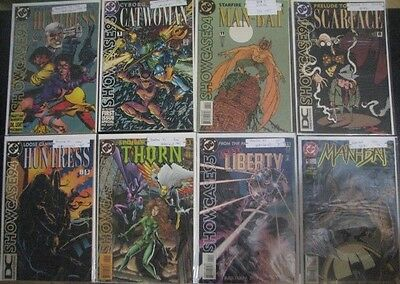 DC Comics SHOWCASE 93-95 Lot (7) Books with a Gift