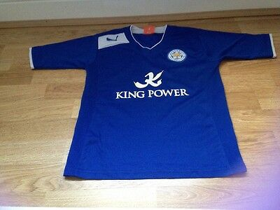 Leicester City Football Shirt Age 8-10 Years