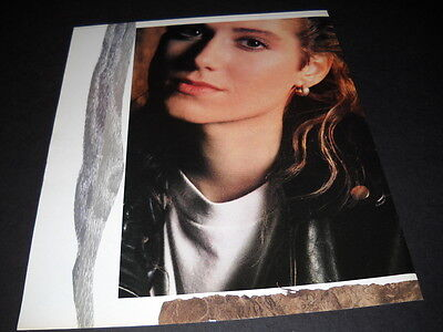 AMY GRANT Dynamic head shot image 1988 PROMO POSTER AD mint condition