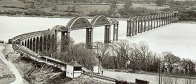 Railway over river Severn 1879