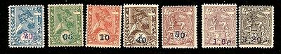 ETHIOPIA SC#43-49, Lion of the Tribe of Judah MLH