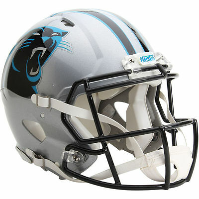 NFL Football Full Size Speed Helm CAROLINA PANTHERS Authentic Footballhelm