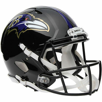 NFL Football Full Size Speed Helm BALTIMORE RAVENS Helmet Authentic Footballhelm