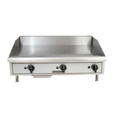 "Toastmaster TMGM36 36"" Countertop Gas Griddle - Flat Top Grill"