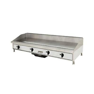 "Toastmaster TMGM48 48"" Countertop Gas Griddle - Flat Top Grill"