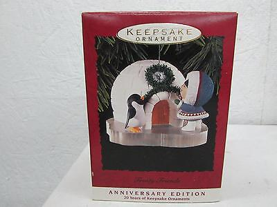 1993 Hallmark Frosty Friends Christmas Ornament New IOB Anniversary Edition