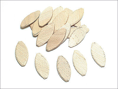 TREND BSC/20/100 NUMBER SIZE 20 LAMINATED BEECH JOINTING BISCUITS - Pack of 100