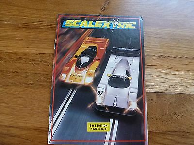 SCALEXTRIC Electric Model Racing 32nd Edition Vintage Catalogue 1991