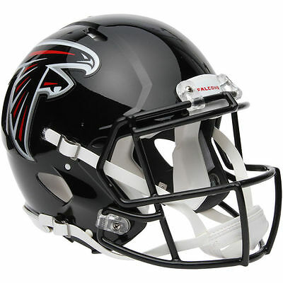 NFL Football Full Size Speed Helm ATLANTA FALCONS Helmet Authentic Footballhelm
