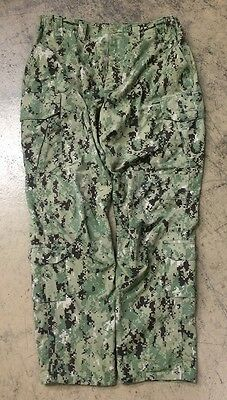 US NAVY USN AOR Army woodland Digital Pattern Trousers Hose LS Large Short